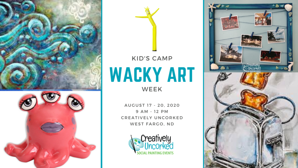 Kids Camp: Wacky Art Week