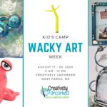 Kids Camp: Wacky Art Week