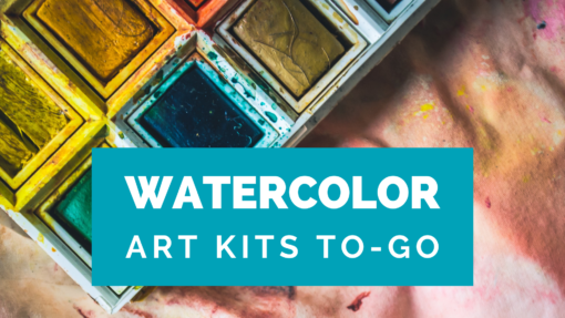 Watercolor Art Kits TO-GO by Creatively Uncorked https://creativelyuncorked.com/