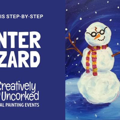 Winter Wizard On Demand Art Kit